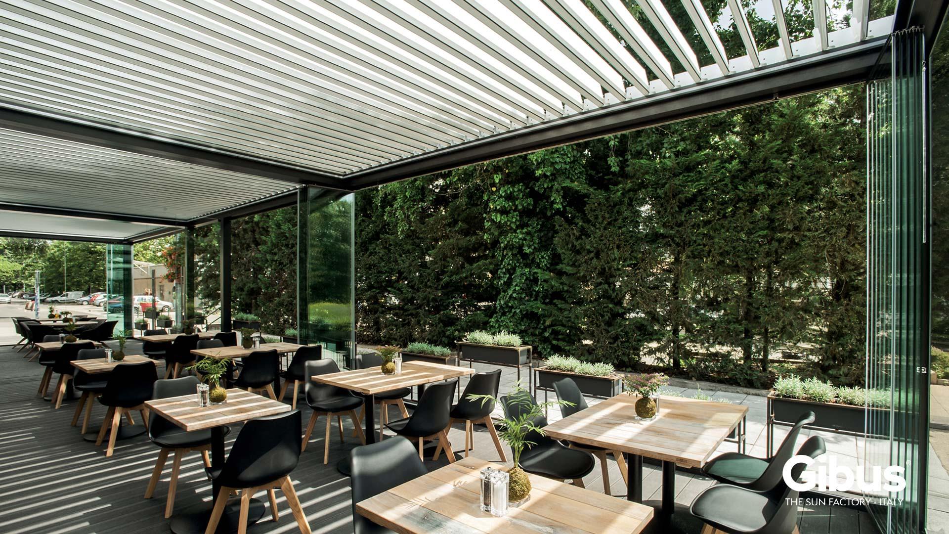 Arredamento contract per bar e ristoranti padova for Arredamento esterno bar