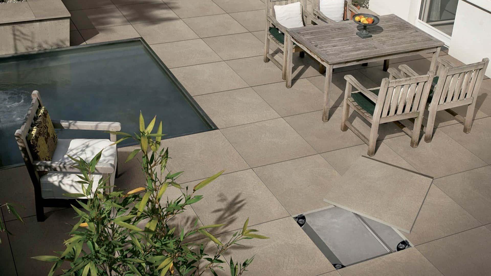 Pavimentazioni da esterno sopraelevate vendita ed installazione