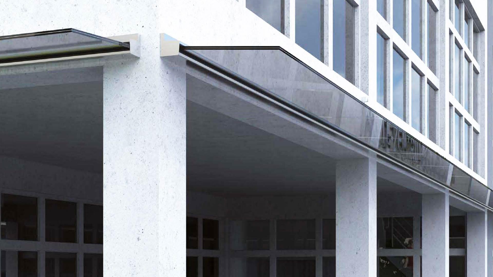 Balaustre e pensiline valori outdoor design