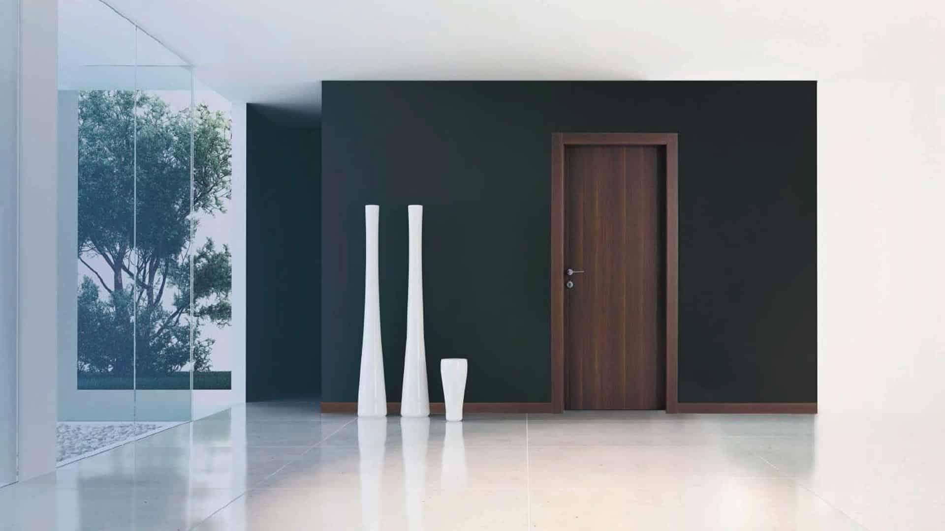 Porte da interno in legno nobile o laminato maniglie - Porte da interno laminato ...