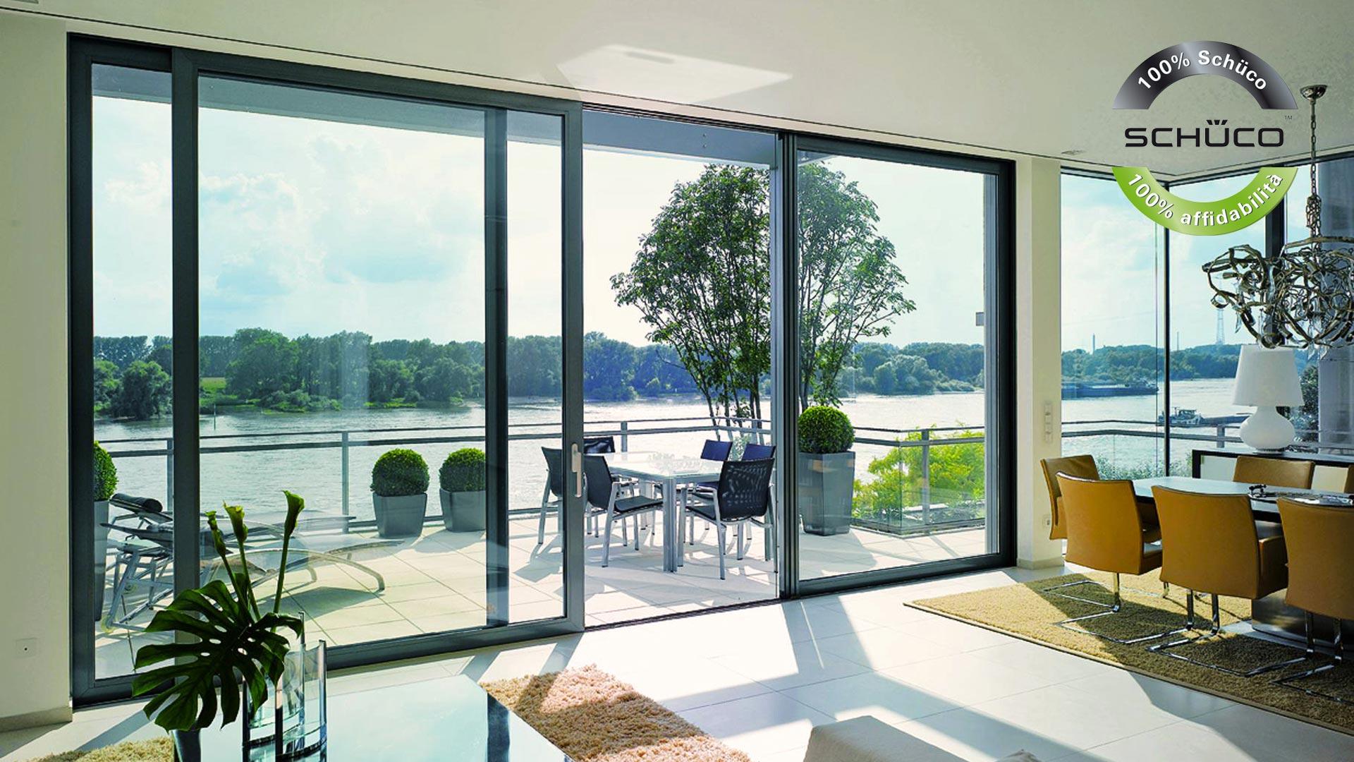 Arredamento da esterno pergole tende da sole serramenti in pvc - Tende finestre pvc ...