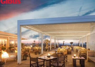 Pergole in Alluminio Bioclimatiche Gibus - Crea nuovi spazi coperti all'esterno e vivi il Tuo outdoor.