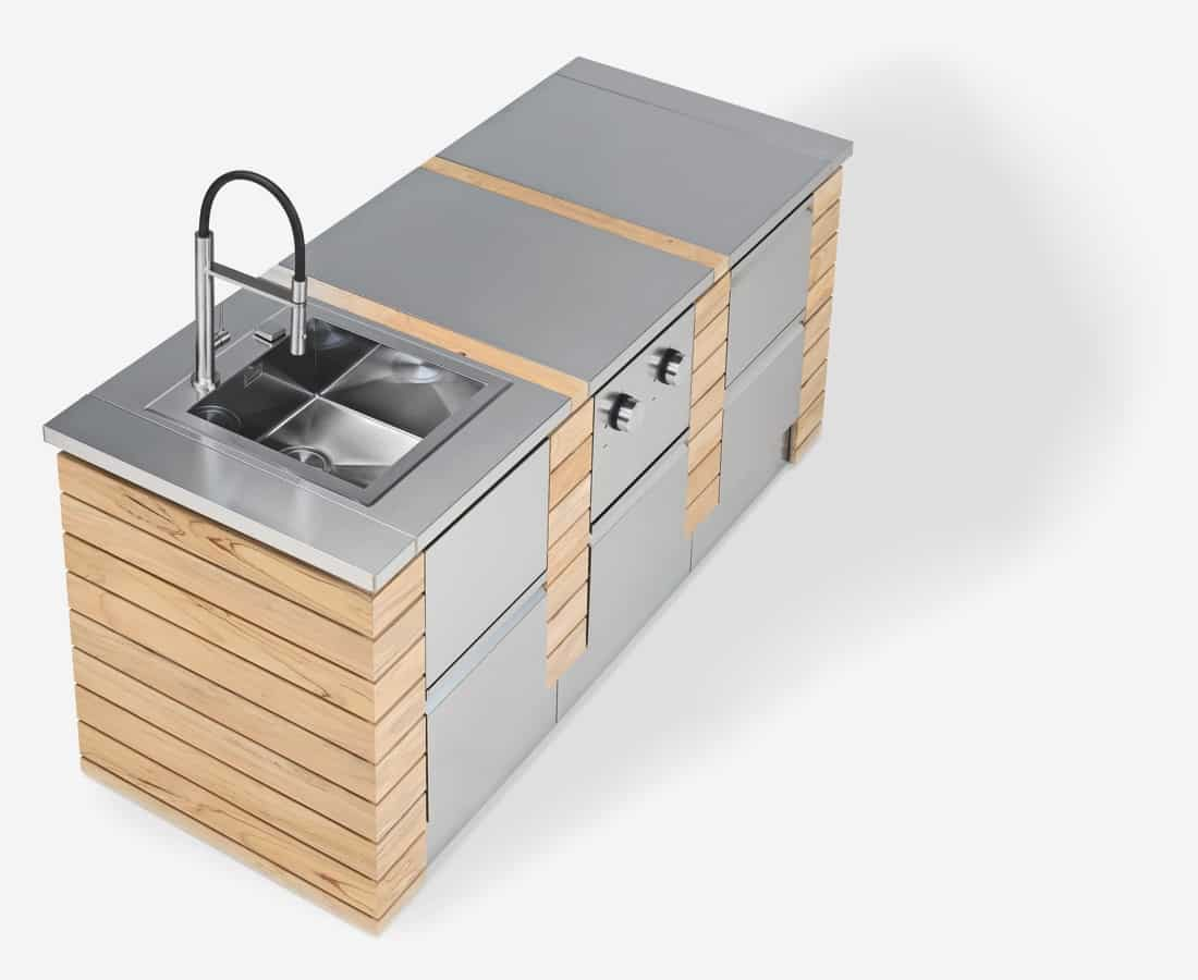 Cucine da Esterno con Elettrodomestici - Barbecue ...