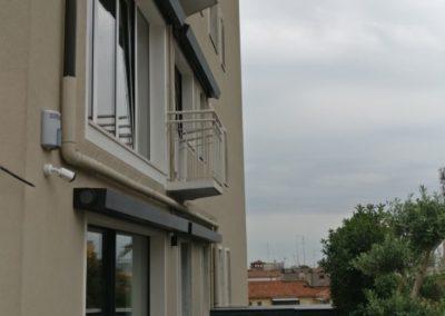 Montaggio Tende da Sole Gibus a bracci estensibili - Centro storico Padova