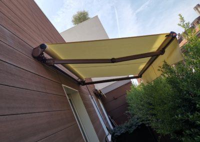 Montaggio Tende da Sole Gibus a bracci estensibili - Residence Prato della Valle