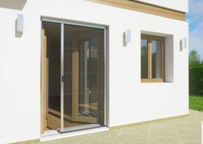 Zanzariere - Proteggi la tua casa dagli insetti | Modello plissettato
