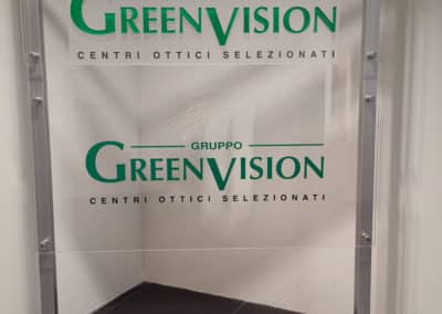 Installazione Tende a Caduta da interno con rullo - Green Vision Padova
