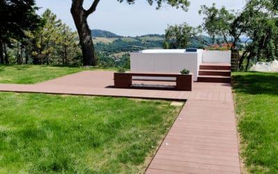 Giardino Villa del '600 – Progettazione Minipiscina