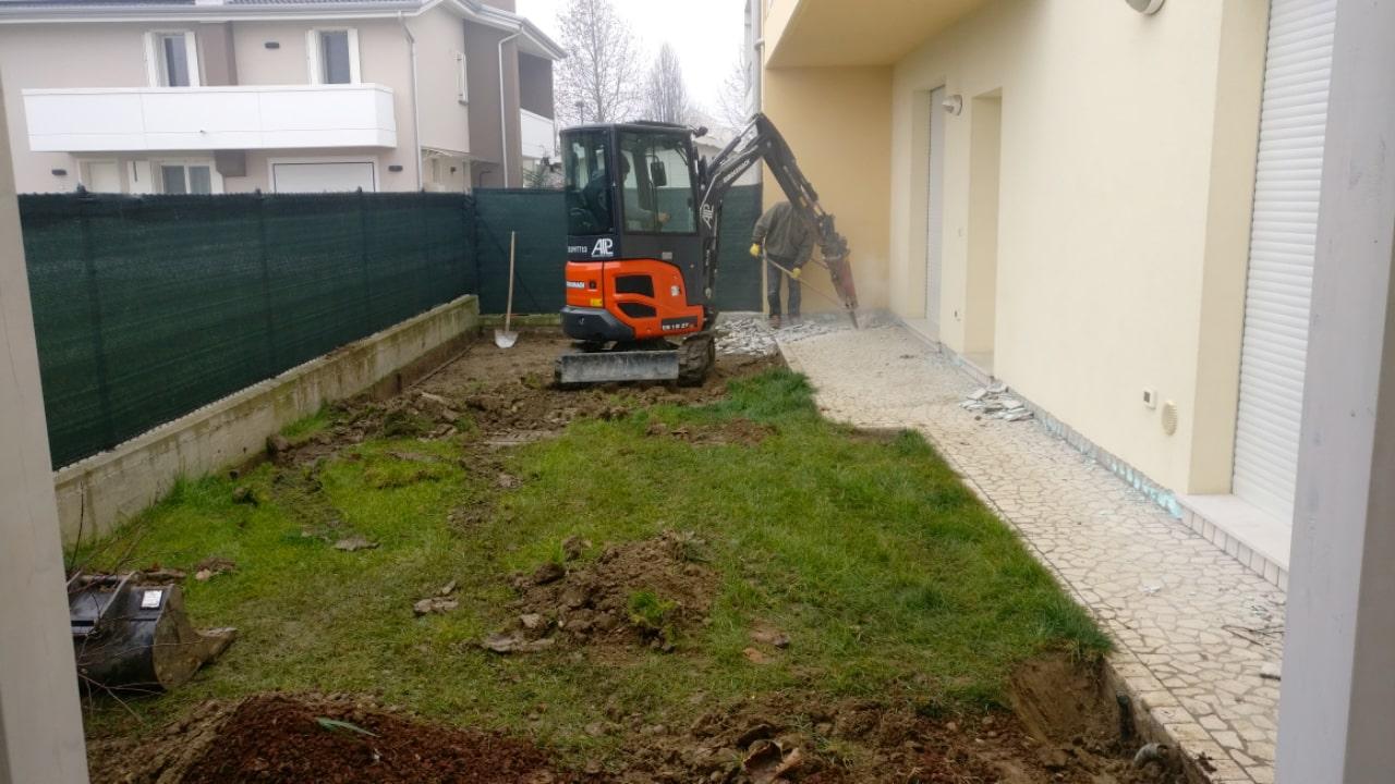 Giardino Moderno ad Albignasego - Progettazione e Realizzazione